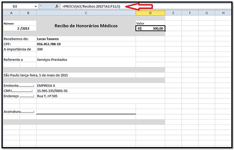 Imagen: Formato de recibo de pago | En Excel y Word para rellenar